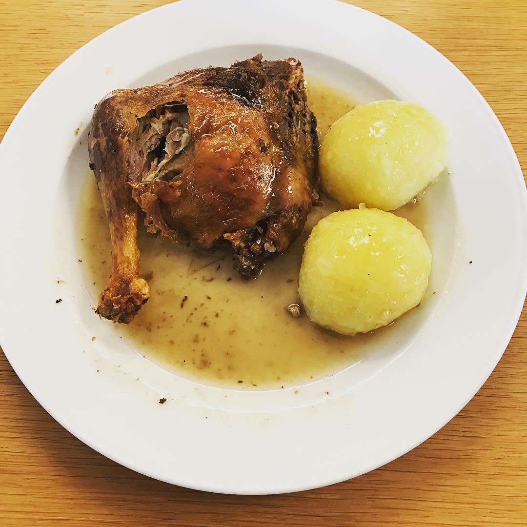 Mittagessen: Ente